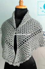 Be A Crafter - Maz Kwok - Silver Glam Shawl - Free