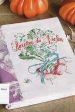 Creation Point de Croix 30  - Recettes du Jardin by Helene de Berre