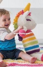 Sewrella - Ashleigh Kiser - Lola the Crochet Plushy Unicorn - Free