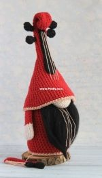 Violin Gnome  PamPinostore design