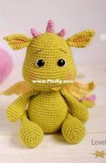 Lovely Toys Pattern - Elena Izmaylova - Dragon
