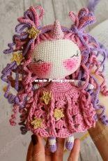 Crochet Confetti Shop - Irina Moilova - Unicorn Doll