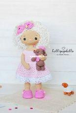 Handi Hats Design - Lollipop Dolls - Katushka Morozova - Louise doll