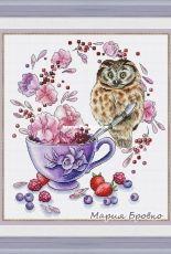 The Tea Owl by Maria Brovko