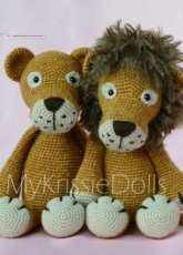 MyKrissieDolls - Kristel Droog - Lisa and Leo Lion - English