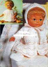 Hayfield Layette For Baby Doll 9-16 Inch