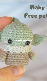 Em Sa crochet - Emma Bergström - Baby Yoda - Free