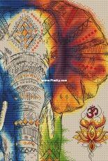 Yana Golovanova - The Rainbow Elephant - Om