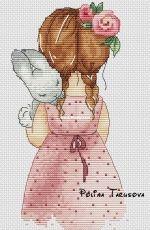 Mia and Bunny by Polina Tarusova