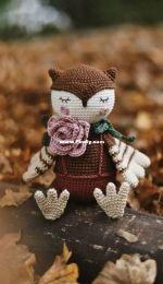 Diana Patskun - Autumn owl