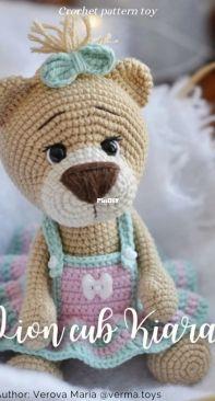 Verma Toys - Maria Verova - Lion Cub Kiara