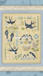 OwlForest Embroidery 47 - Swallows