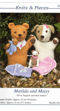 Knits and Pieces - Matilda and Maisy