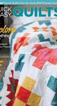 Quick + Easy Quilts 08.09 2021