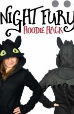 Choly Knight - Sew Desu Ne? - Night Fury Hoodie- Free