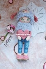 Handi Hats Design - Lollipop Dolls - Katushka Morozova - Mila Doll - Russian