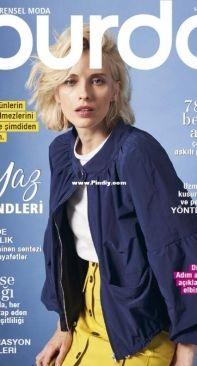 Burda - Nisan 2021 / 4 - Turkish