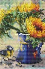 Sun Flowers by Ekaterina Volkova