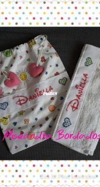 Bolsa merienda y toalla para guardería