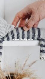 FireflyCrochets -  Sailor the Sleepy Cat Crochet Pattern