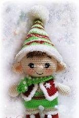 Tatsok Toys - Tatyana/Tatiana Sokolova - Christmas Elf - Russian - Free