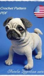 Natalia Zagrebina - nata33 Pug puppy English pattern