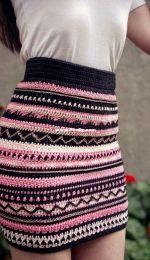 Tribal Skirt by Barbara Peček / TheMagicLoop.com