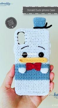 Handmadify - Handmade Tranggtrangg - Trang Minh - Donald Duck Iphone Case - Free