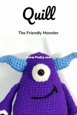Quill The Friendly Monster