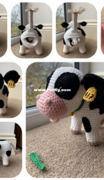 Laura Loves Crochet - Laura Sutcliffe - Cow with Calf