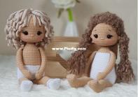 Tatsiana toys - Tatiana Reentovich - Doll Ksyusha - Muñeca Ksyusha - Spanish - Translated