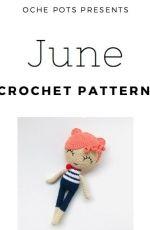 Oche Pots - Clare Cooper - June - Quirky Cute Doll Collection