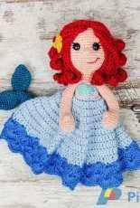 One and two company - Carolina Guzman - Marina the Mermaid Lovey
