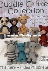 Left Handed Crocheter - Jennifer Adams - Cuddle Critter Collection