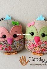 Handmade Little Birds Lavender Sachets - Portuguese - Free