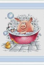 Enjoy Your Bath by Anna Petunova