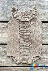 Knitting for Olive-Lulu and Loui Romper by Pernille Larsen