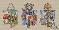 Keys September - October - November  by Anna Petunova
