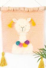 Manuska Crochet - Orsi - Alpaca Wall Hanging
