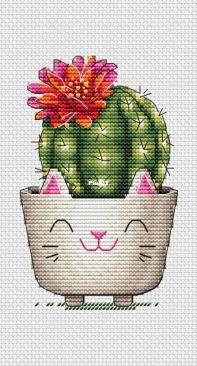 Cactus by Ekaterina Zemlyanskaya