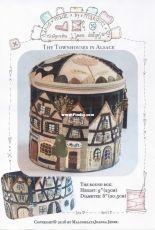 Townhouses in Alsace The Round Box - Malgorzata J. Jenek