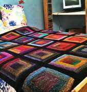 Noro paintbox blanket