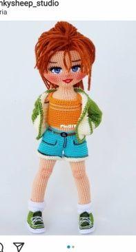 Pinky Sheep Studio - Ghada Harb - Sandy Doll - English