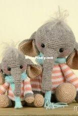MyKrissieDolls - Kristel Droog - Mini Elephant Nina