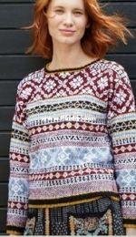 Krysta Sweater by Debbie Bliss