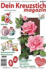 Dein Kreuzstich Magazin Issue 6 November December 2017 - German