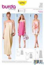 Burda Young 6792 Dress Sewing Pattern