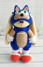 Knittoypatterns - Natalya Solovjeva - Natalia Solovieva - Blue Outfit
