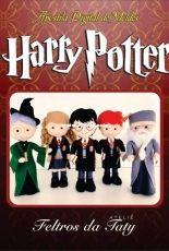 Feltros da Taty Atelie - Taty Alonso - Harry Potter - felt - Portuguese