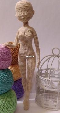 Mitryukhina Evgeniya Ronaldovna - Evgeniya Ronaldovna - Body for Doll - Russian
